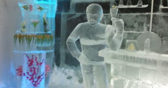 Бармен ледяного бара