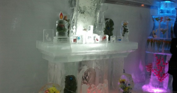 Ледяной камин